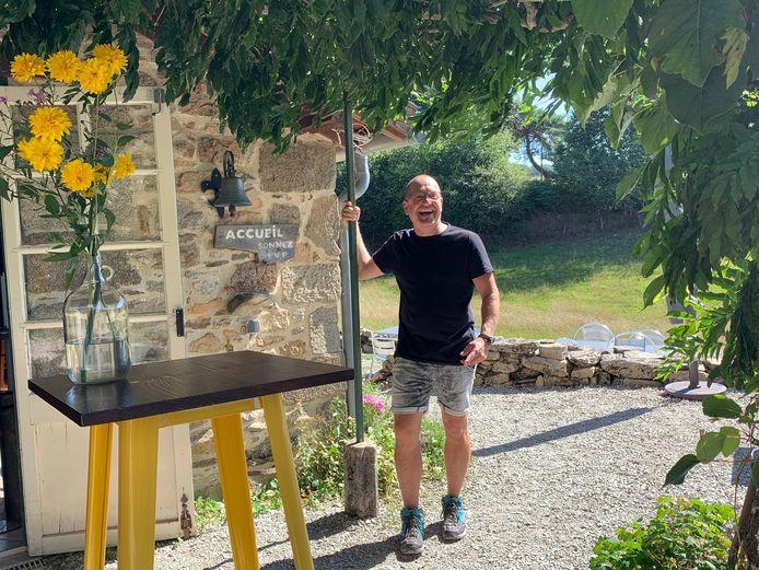 Kapper Guido Vluggen runt nu een camping in Frankrijk.