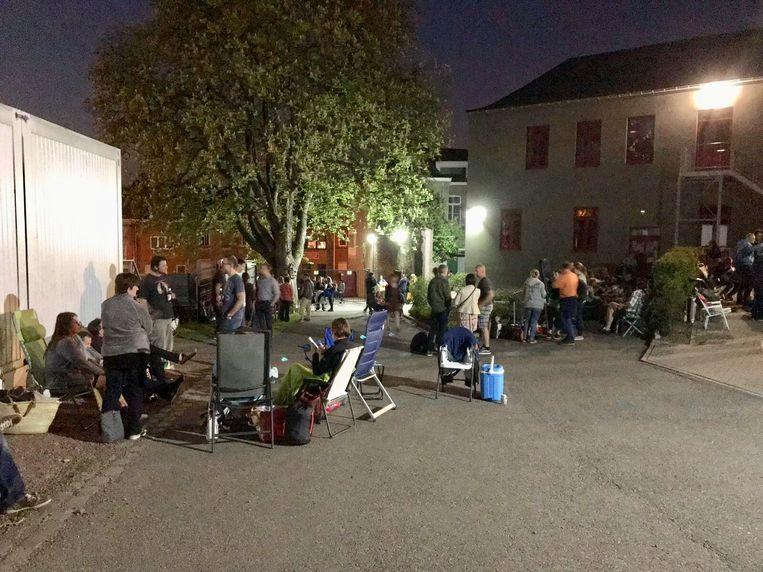 Aan het Sint-Martinuscollege in Overijse brachten ruim 150 ouders in de vorige lente de nacht door.