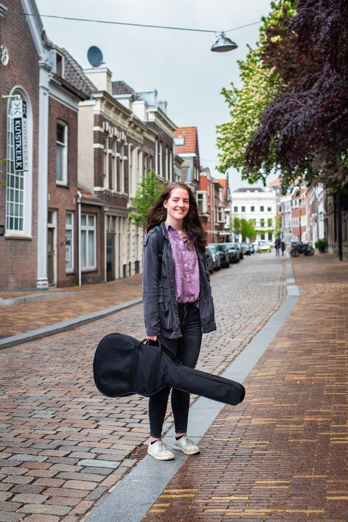 Gitariste Selma Rimmelzwaan