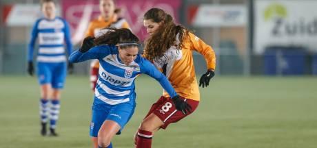 Asbroek voorkomt nederlaag PEC Vrouwen tegen PSV: 3-3
