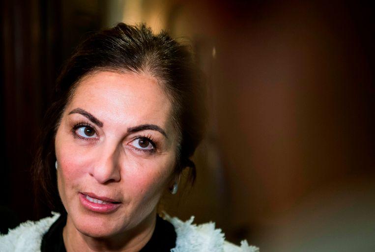Elisabeth Massi Fritz, de advocate van het slachtoffer.