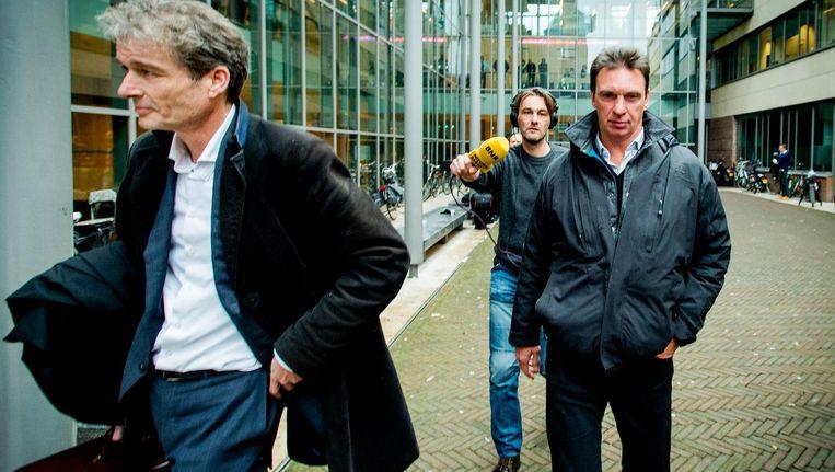 Beeld uit 2014: links Stijn Franken, rechts Willem Holleeder. Beeld anp