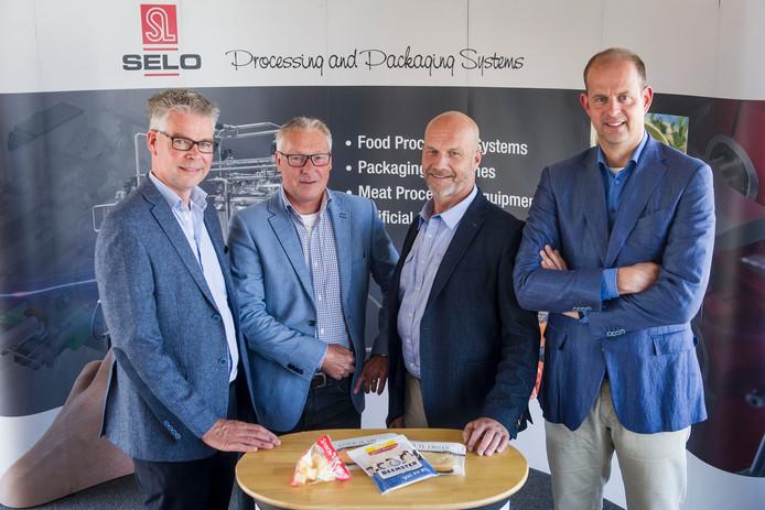 De directie van Selo uit Oldenzaal in 2015 met uiterst rechts Gerwin Ooms. Editie: Foto: Emiel Muijderman