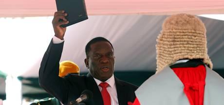 Mnangagwa als president van Zimbabwe geïnstalleerd