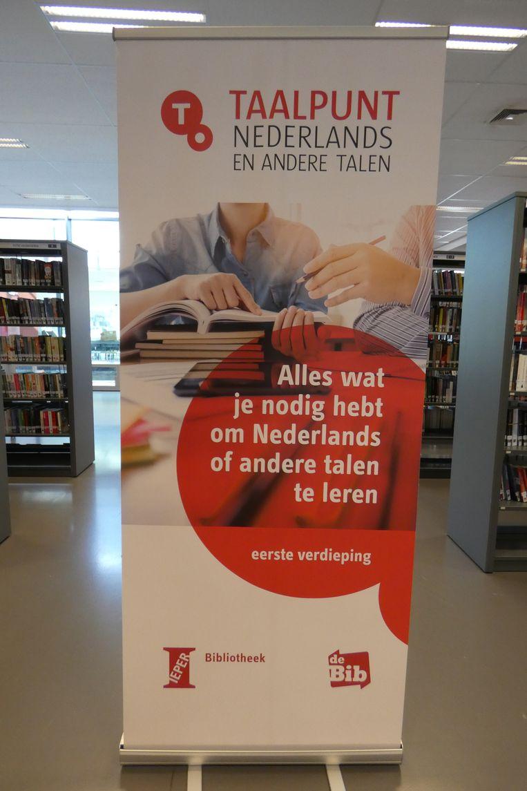 Het Taalpunt Nederlands en andere talen in de bib.