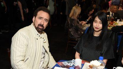 Na huwelijk van vier dagen: Nicolas Cage heeft een nieuwe vriendin