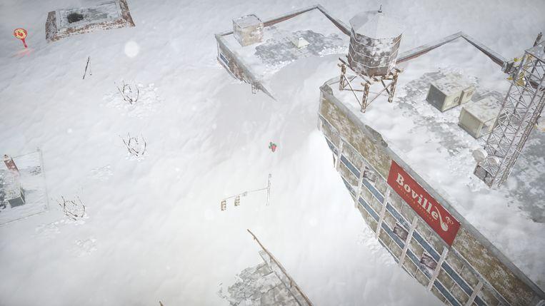 De barre planeet aarde doorsturen naar middelen om te overleven is een van de belangrijkste spelelementen in 'Impact Winter'.