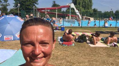 Openluchtzwembad Maupertuus tot 22 uur open om afkoeling te zoeken tijdens hitte