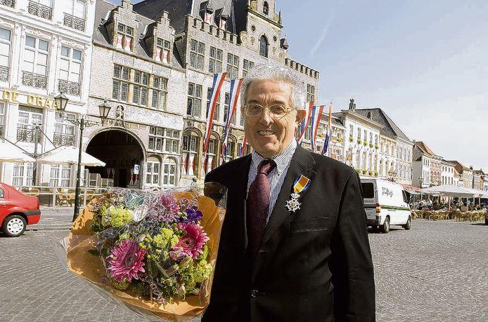 BERGEN OP ZOOM –  Historicus Willem van Ham werd in 2007 benoemd tot Ridder in de Orde van Oranje Nassau.