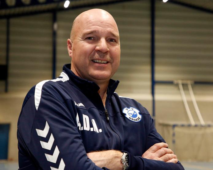 Groede-coach Andre de Nooijer was in zijn nopjes met de behaalde periodetitel.