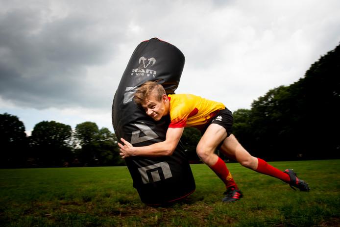 Als het aan Steven van der Horst ligt gaat in Nederland de rugbysport eindelijk eens meetellen.