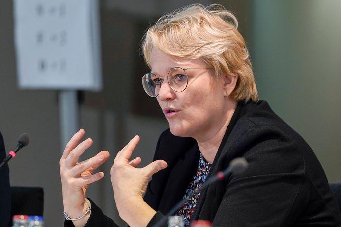 la ministre de l'Economie, Nathalie Muylle.