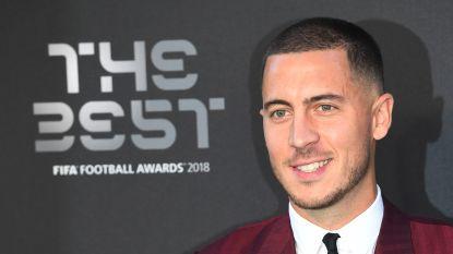 """LIVESTREAM. Nog een Belg in de prijzen: Eden Hazard krijgt plekje in elftal van het jaar: """"Fier en blij"""""""
