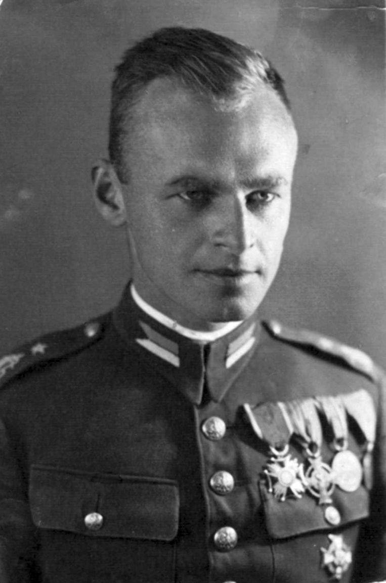 Witold Pilecki (1901-1948) in 1940. Beeld Hollandse Hoogte