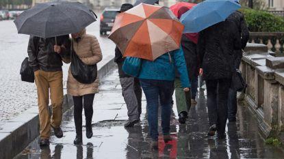 Nog meer regen en kans op winterse buien in de Ardennen