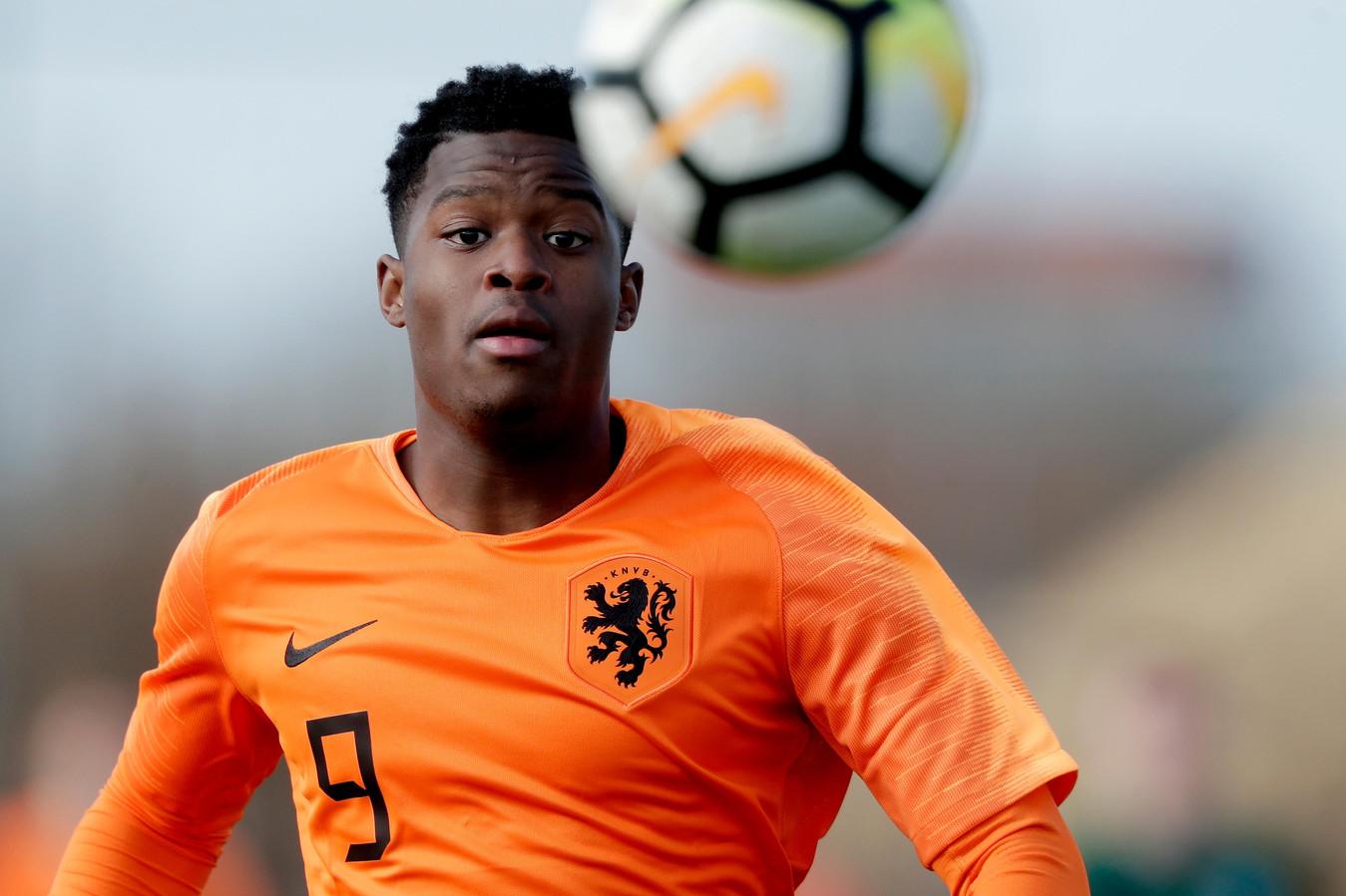 Daishawn Redan scoorde al 42 keer in 53 jeugdinterlands voor Oranje.