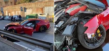 Un joueur de Serie A confie sa Ferrari à un service de nettoyage, il la récupère détruite