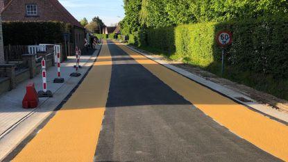 Zomergemstraat in Lievegem woensdag weer open voor verkeer (maar je moet er trager rijden)