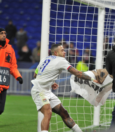 UEFA klaagt Lyon aan vanwege clash Memphis met eigen fans