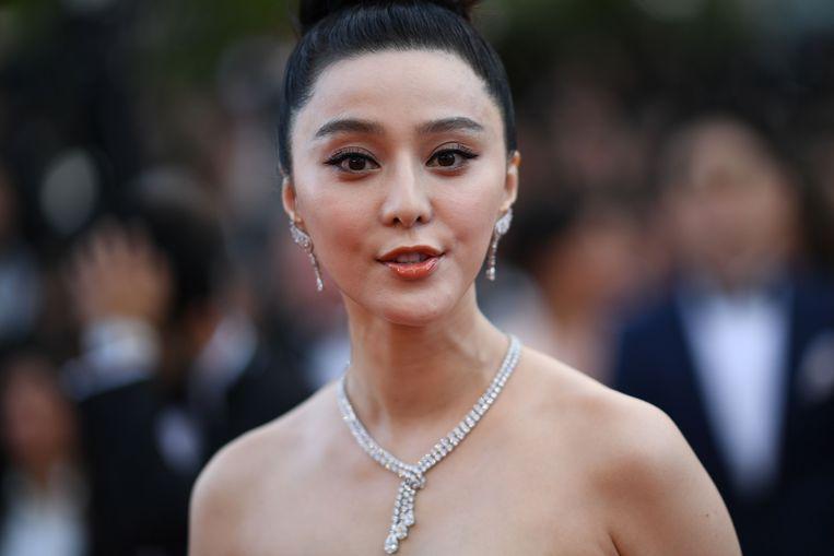 Fan Bingbing op 8 mei in Cannes.