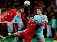 Ronaldo probeert De Ligt te strikken: 'Ik kon hem eerst niet verstaan'