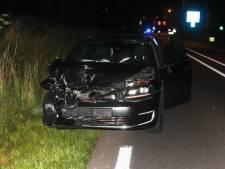Auto slaat over de kop bij Zutphen: bestuurder gewond