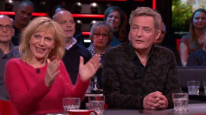 Johanna ter Steege en Herman Finkers.