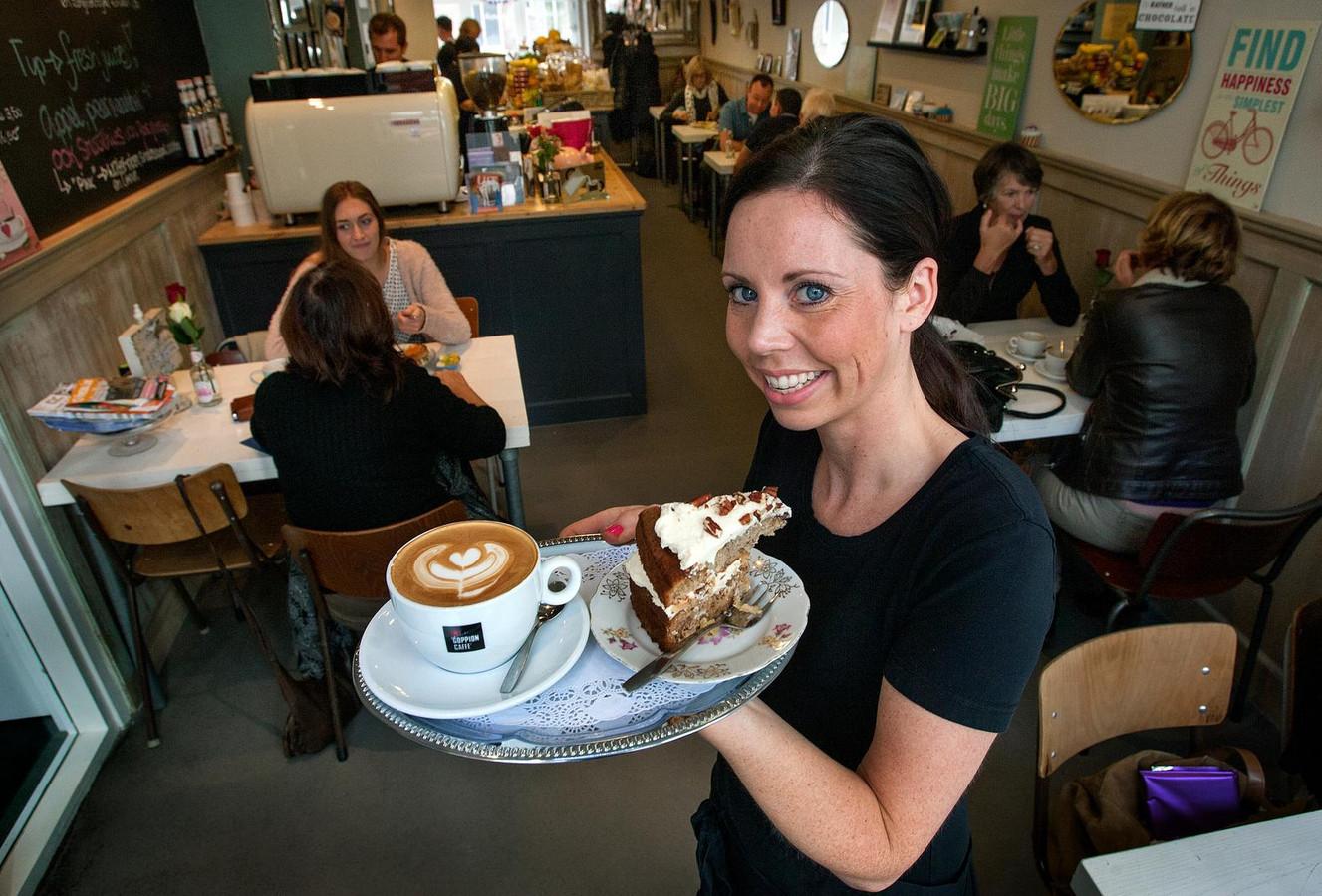Fiona Buitenhuis in de Dordtse Coffeelicious.