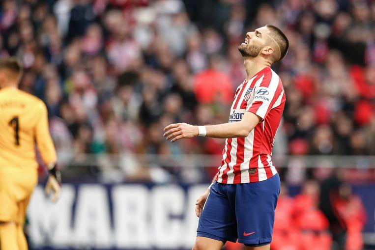 Carrasco is (nog) geen succes in het Wanda Metropolitana.