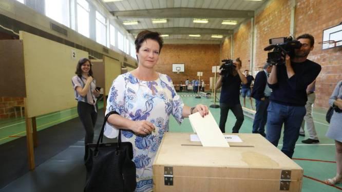 """Annick Ponthier (Vlaams Belang): """"Afwachten wat volgende week brengt. Maar ik sta klaar"""""""