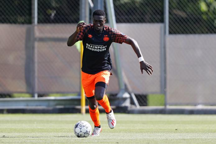 Derrick Luckassen viel zondag in positieve zin op bij PSV in het duel met Olympique Nice.