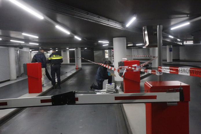 Steekincident parkeergarage Eindhoven