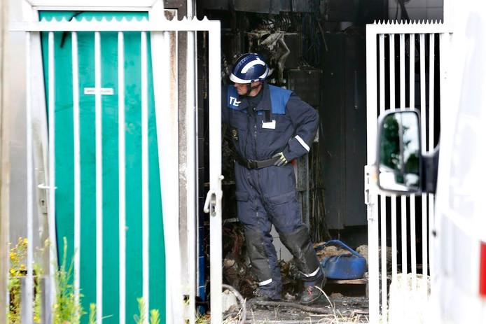 De politie doet mee aan het onderzoek aan de Gagelstraat