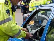 Politie betrapt vier chauffeurs op rijden onder invloed