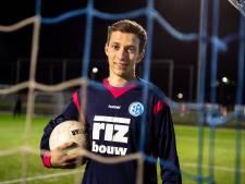 18-jarige keeper Van de Graaf grijpt zijn kans bij Schoonhoven