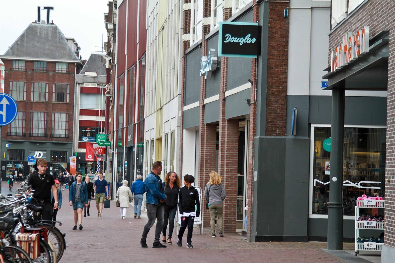 De Douglas-vestiging in Leeuwarden.