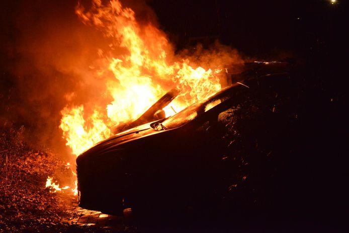 In juni vorig jaar ging het even mis bij een autobrand op de hoek van de Kloosterlaan en de Wilgenlaan in Etten-Leur. De brandweer bleek de brandkraan niet te kunnen vinden. (Foto ter illustratie).