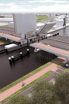 De broodnodige tweede brug bij Boskoop is er al, alleen staat-ie op de verkeerde plek