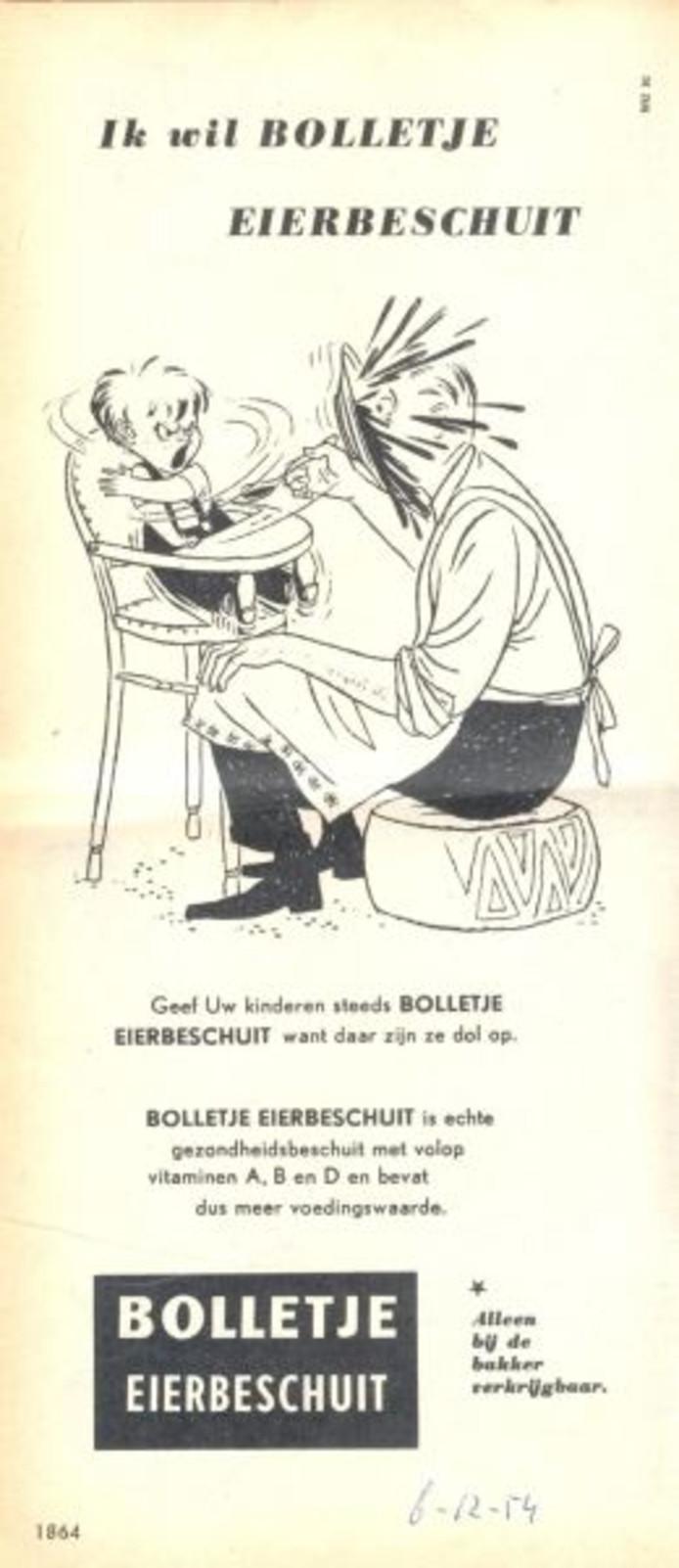 Reclame uit 1954