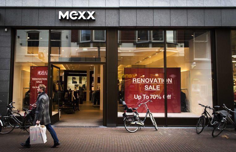 Een winkel van de failliete kledingketen Mexx in Haarlem. Beeld anp