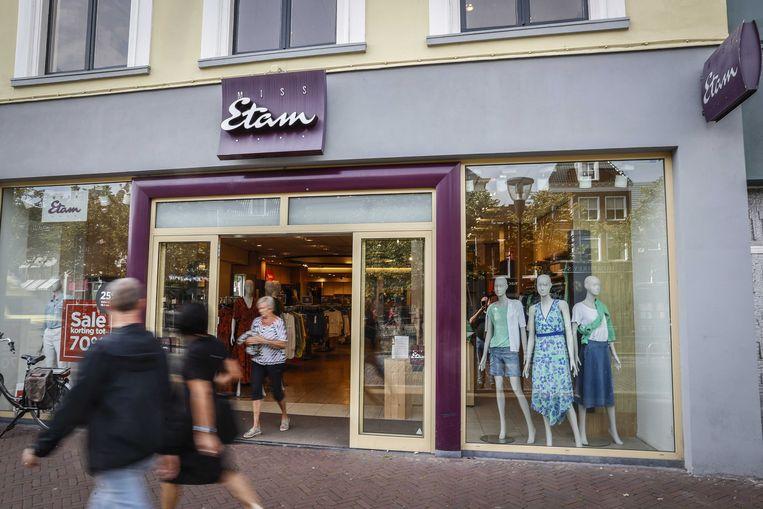 De winkels van Miss Etam, Promiss, Espresso en Claudia Sträter blijven vooralsnog open. Beeld ANP