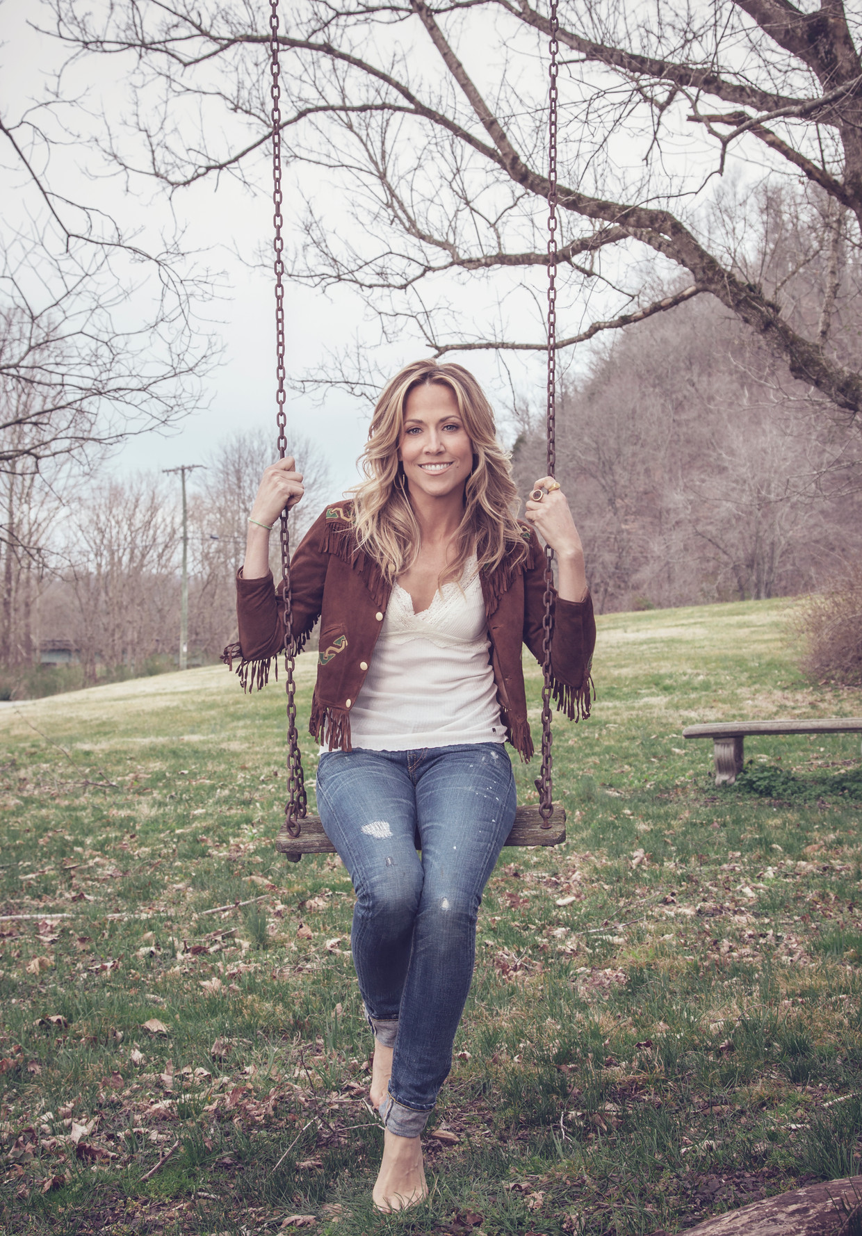 NASHVILLE, TN - FEBRUARY 13: Singer Sheryl Crow is photographed for The Hollywood Reporter on February 13, 2013 in Nashville, Tennessee. (Photo by LeAnn Mueller/Contour by Getty Images) Beeld Contour by Getty Images