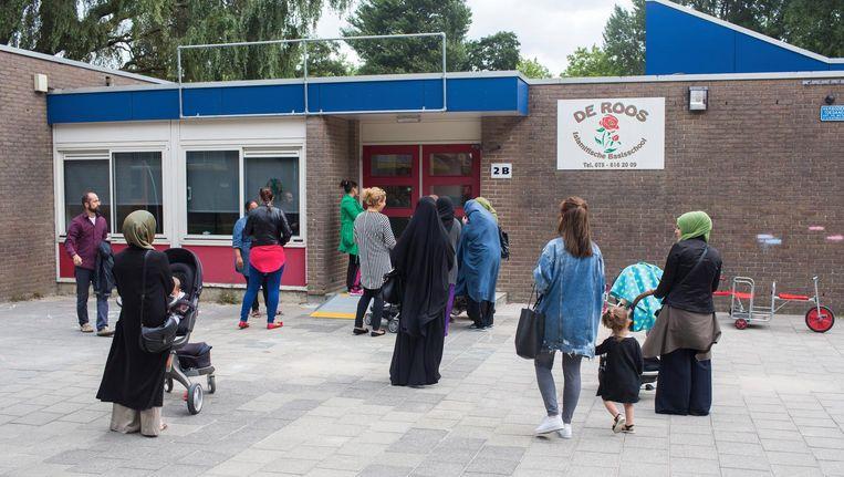 Basisschool De Roos in Zaandam. Beeld Ton Koene