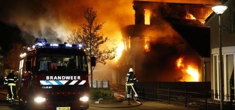 Brand na mogelijke aanslag verwoest villa in Etten-Leur