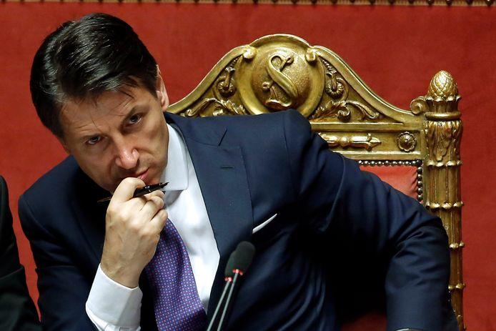 Giuseppe Conte kondigde vorige week het einde van zijn regering van de rechts-populistische Lega en de populistische Vijfsterrenbeweging aan. Blijft hij aan als premier?