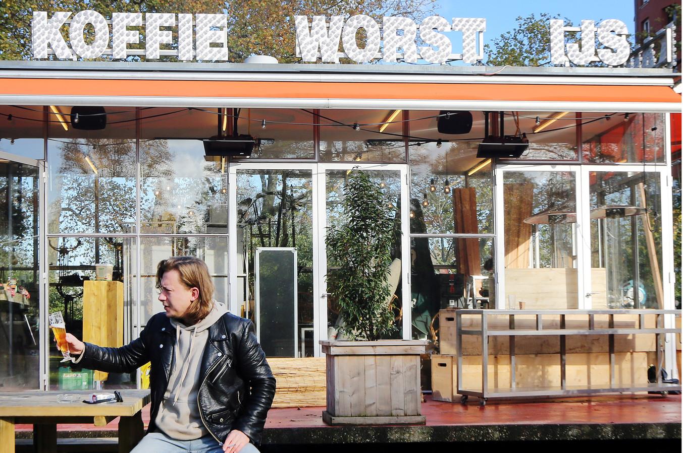 Joris Zomerdijk runt het T-Huis in het Valkenberg.