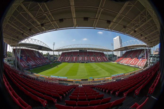 Stadion Galgenwaard in Utrecht. IS zou oproepen tot een aanslag in dat stadion tijdens het aankomende EK voetbal voor vrouwen.