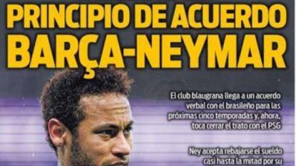 """Transfer Talk. Diatta plan B voor Ajax - Vanheusden naar Engeland of Italië? - Anderlecht verhoogt bod op Vlap - """"Barça heeft akkoord met Neymar"""""""