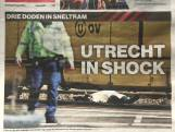Utrecht in één klap wereldnieuws na schietincident in tram