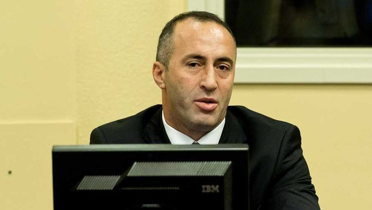 Ex-premier Ramush Haradinaj. Beeld anp